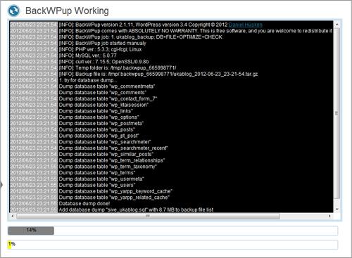 BackWPup(11)