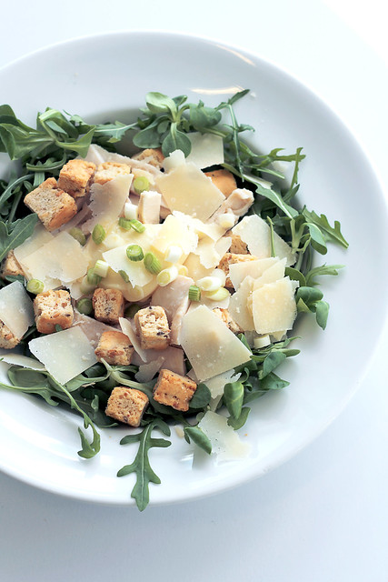Chicken, Parmigiano, Mayo and Croutons