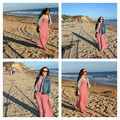 Old Navy dress (a maxi dress that doesn't make me look pregnant, ...
