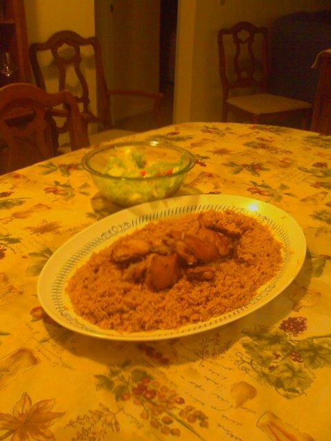 Special Chicken Kabsa (Kubseh)