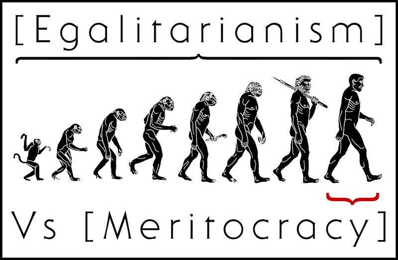 Egalitarism vs meritokracy