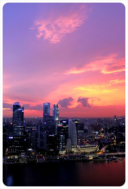 views over Singapore
