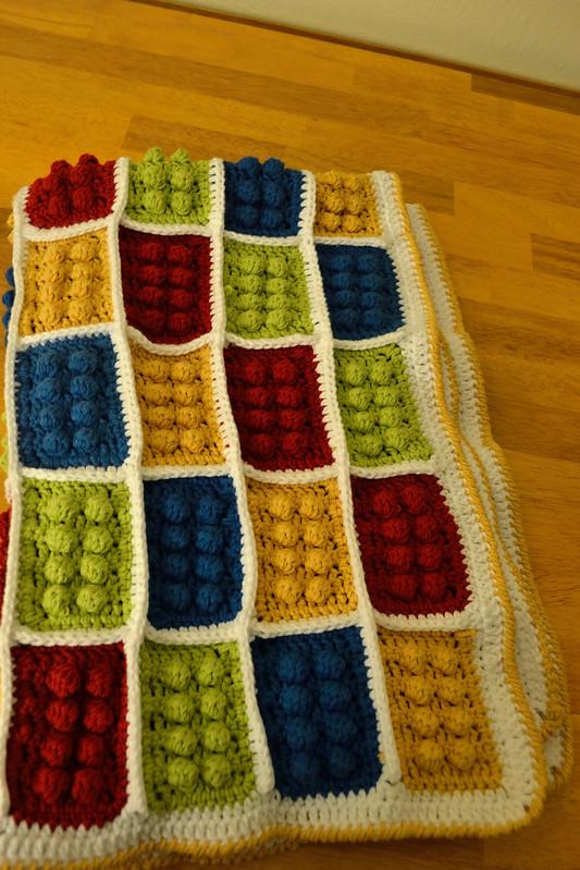 Amaryllis Musings: Finished Object Friday - LEGO Baby Blanket