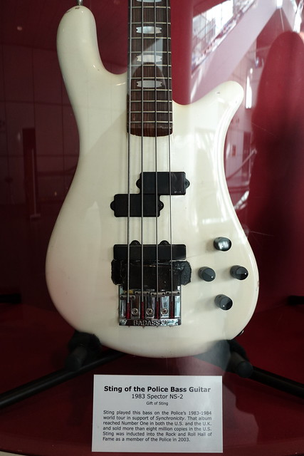 Rock and Roll Hall of Fame Sting's Bass Guitar | Flickr ...