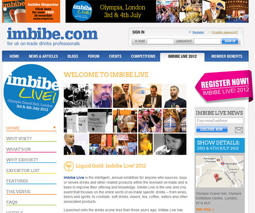 7499772240 d82a3bb20c Imbibe Live 2012   Whats new to the drinks market?