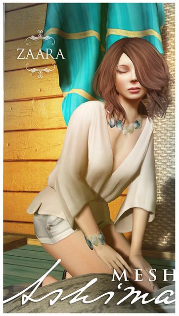 Zaara : [Mesh] Ashima blouses