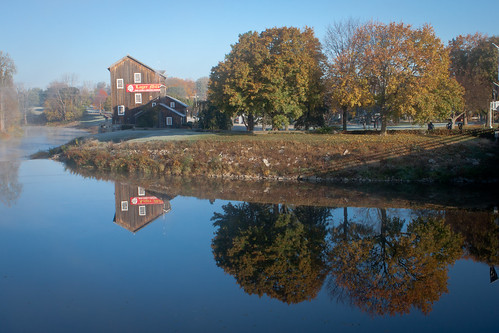 Frankenmuth Fall Morning by KarrieChantel