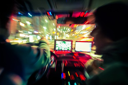 Seoul At Night - Taxi