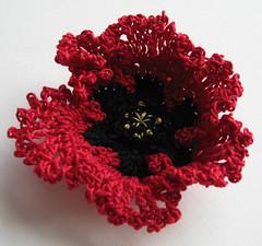 20 - Crochet Poppy
