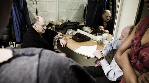 Meet the Hitlers, Cast in Dressing Room During Intermission 2,NYC