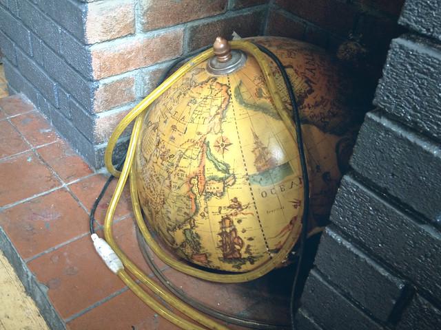 Earl Ferrers, globe