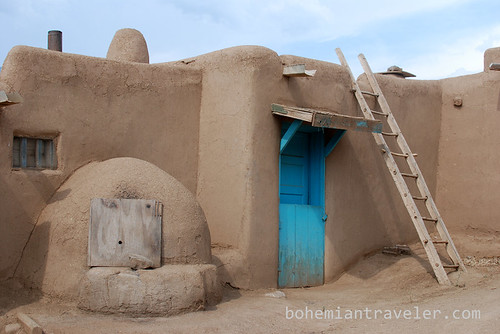 house at Taos Pueblo