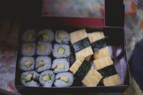 vegetarian makis & sushis