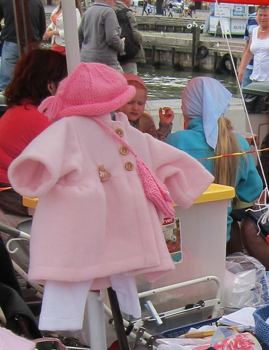 Pink coat for a doll by Anna Amnell