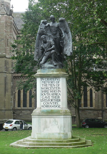 Boer War Memorial, Worcester