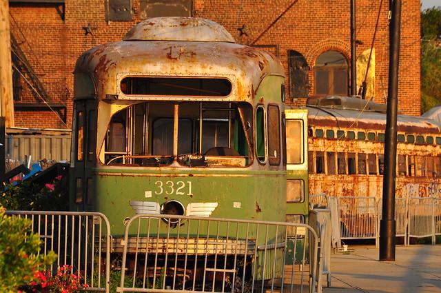 Former Boston Streetcar