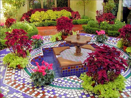 formal indoor garden
