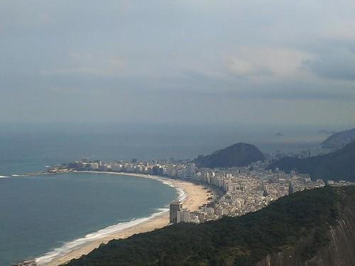 View over Rio de Janeiro from Sugar Loaf