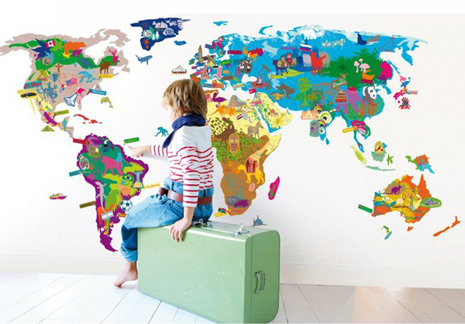 Baby space my favourite and my best giant map of the world giant map of the world posted on monday july 16 2012 gumiabroncs Image collections