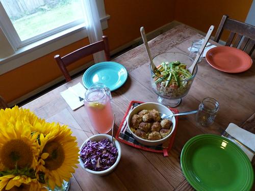 Ralph's Birthday Dinner