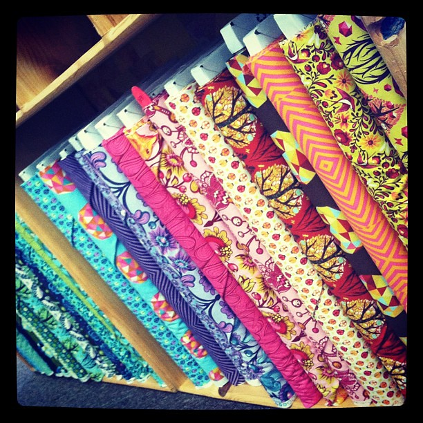 July 17. My addiction. #photoadayjuly #fabric