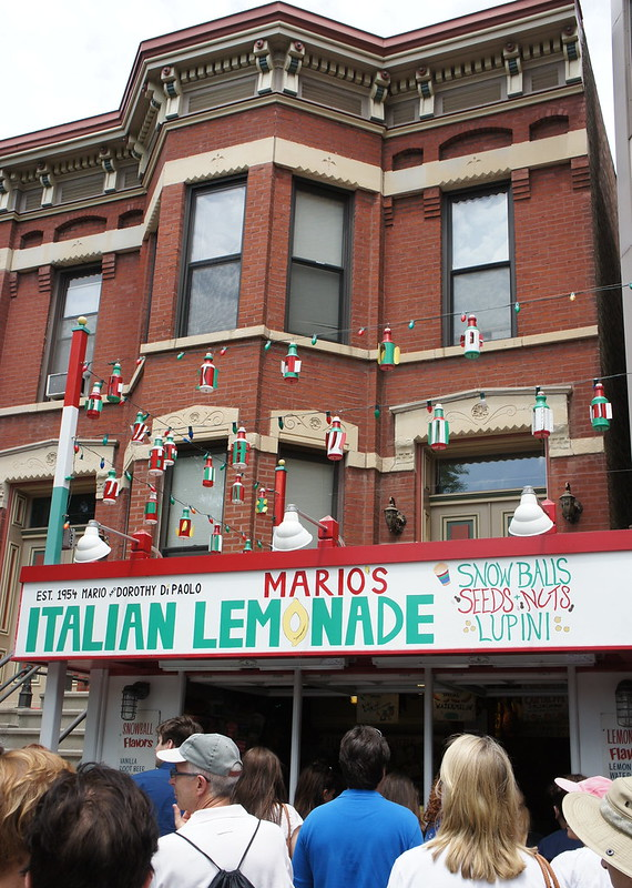 Mario's Italian Lemonade - Little Italy Chicago