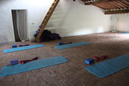 Villa Benvenuti Yoga Room