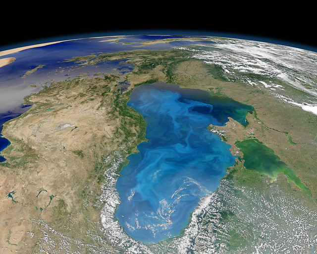 Black Sea from space
