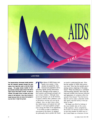AIDS and a Risk-Based Model