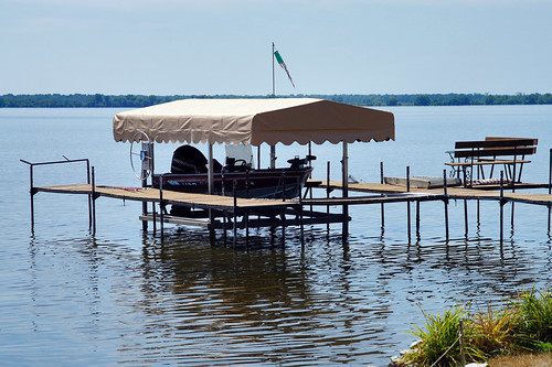 A garage for a boat ... in Wisconsin!