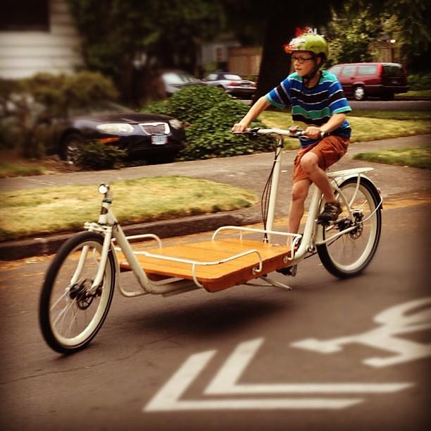 @metrofiets #cargobike Kael