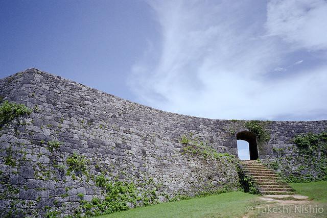 座喜味城跡, 一の郭 / Zakimi castle, Inner wall
