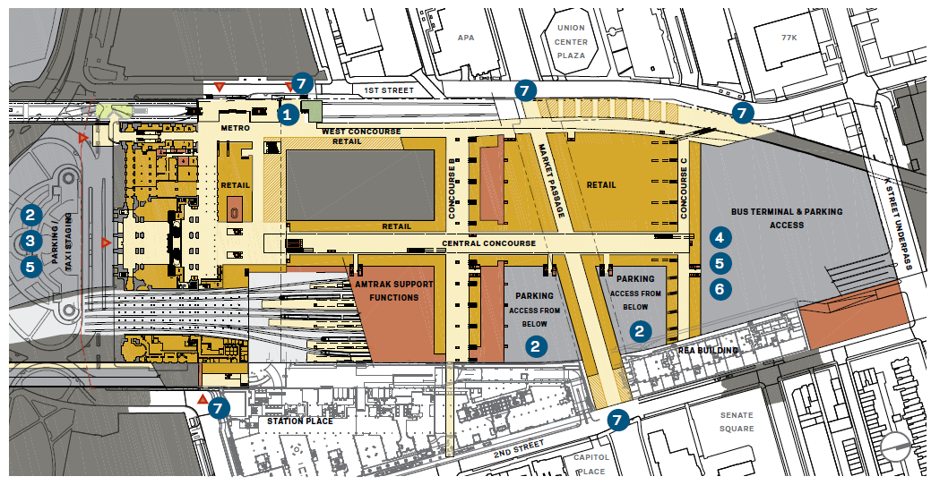 Huge Expansion Planned For Washington Dc S Union Station