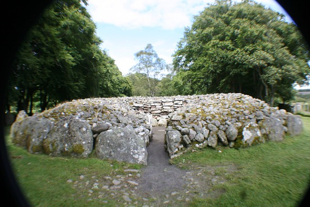 Prehistoric Burial Cairn at Clava