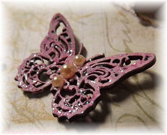 art, brown, purple, violet, lilac, invertebrate, lavender, insect, brooch, pink, organ,