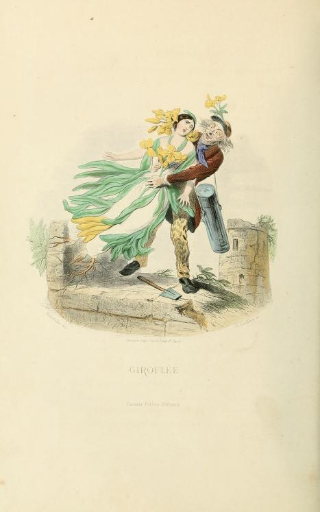The Flowers Personified (1847) – The Public Domain Review