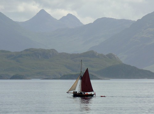 Sailboat at Knoydart