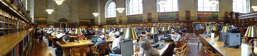 New York Public Library - Bryant Park - Manhattan NY
