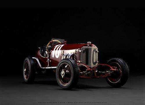 """Mercedes 1924 Targa Florio No. 10 - """"Werner/Sailer"""""""
