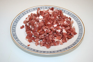 09 - Zutat Speck / Ingredient bacon