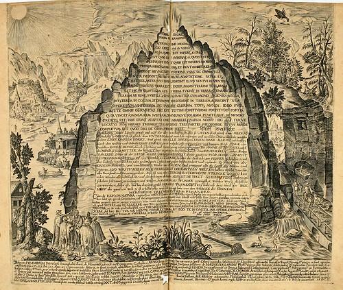 014-Tercer grabado rectangular horizontal- Tabla esmeraldina-Amphitheatrvm sapientiae aeternae…-1609- Heinrich Khunrath