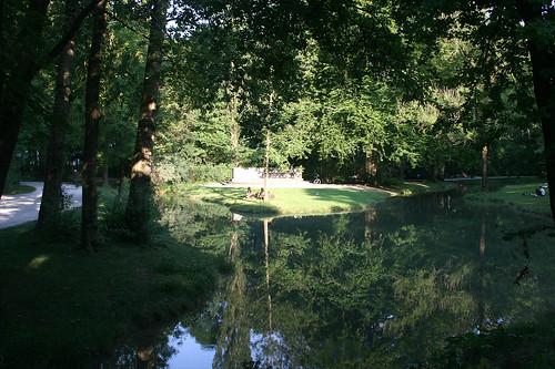 Im englischen Garten