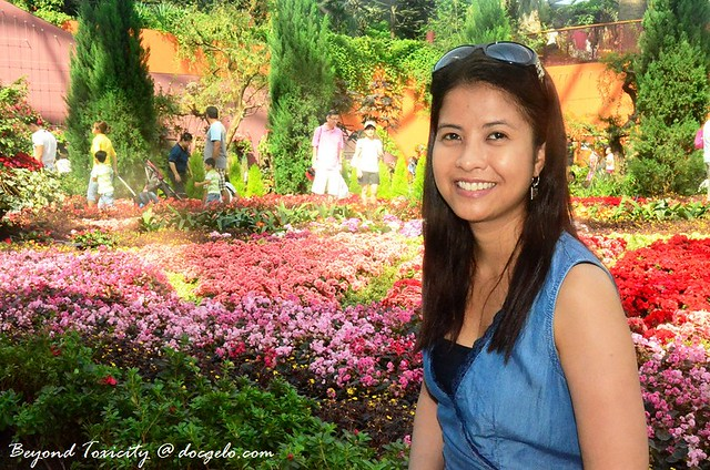 gina at gardens by the bay, singapore