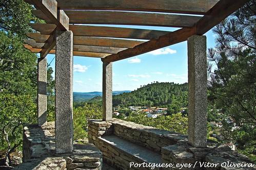 Miradouro do Santuário de Nossa Senhora da Conceição - Castelo - Portugal