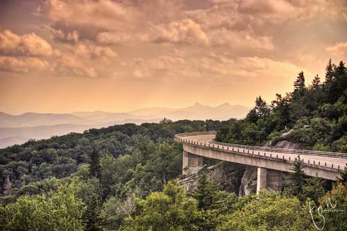 landscape nc viaduct hdr blueridgeparkway blowingrock tonten linncove