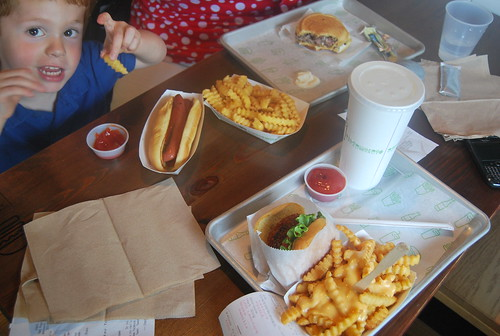 Shake Shack - lunch