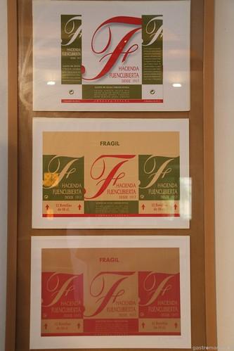 Etiquetas de Aceite Hacienda Fuencubierta
