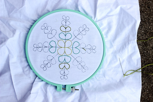 Color Me Retro Embroidery by Jeni Baker