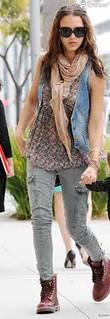 Jessica Alba Oxblood Trend Celebrity Style Women's Fashion