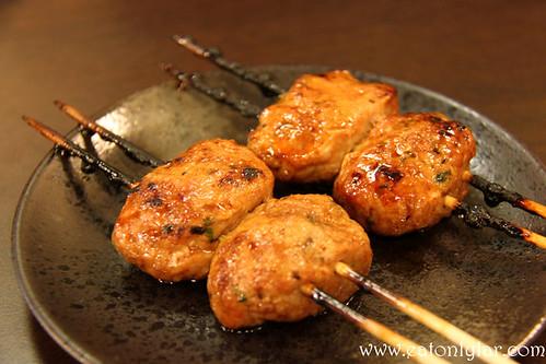 Chicken Meatball, Kushiyaki Kuni